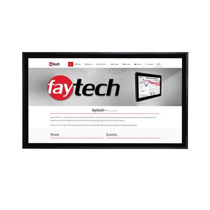 "All in One компютър Faytech FT43J1900W4G64GCAP, четириядрен Intel® Celeron™ QuadCore J1900 2.00/2.42 GHz, 42.5"" (107.95 cm) Full HD Capacitive Multi Touch Display, 4GB DDR3L, 64GB SSD, USB, Linux image"