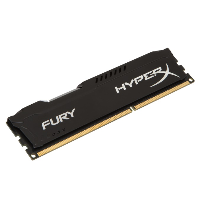 4GB DDR3 1600MHz, Kingston HyperX Fury (черна) image