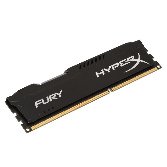 Памет 4GB DDR3 1600MHz, Kingston HyperX Fury (черна) image