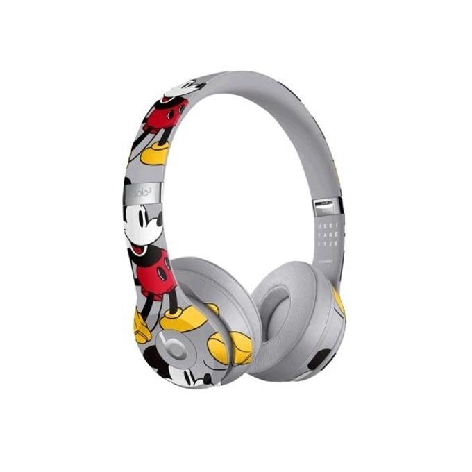 Слушалки Beats Solo3 Wireless Mickey's 90th Anniversary Edition, Bluetooth, до 40 часа работа, многоцветни image