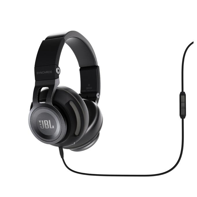 Слушалки JBL Synchros S500, микрофон, черни image
