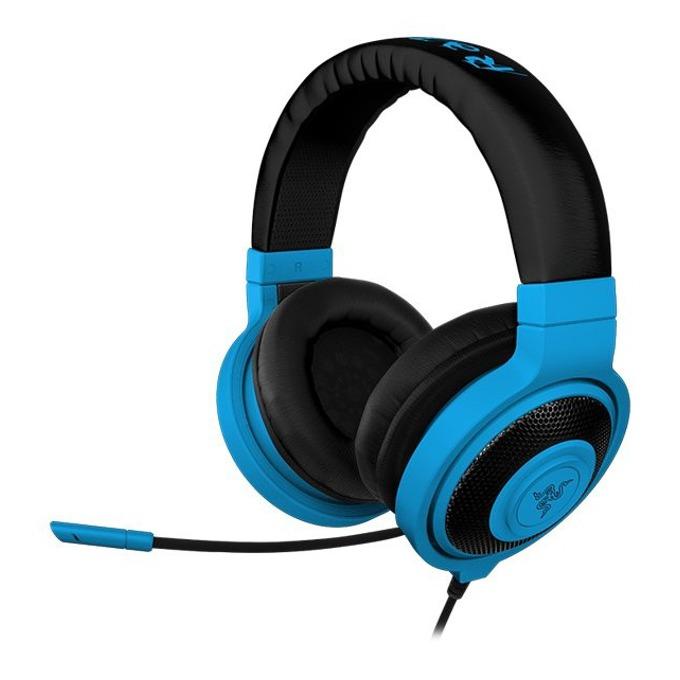 Слушалки Razer Kraken Pro Neon, микрофон, сини image