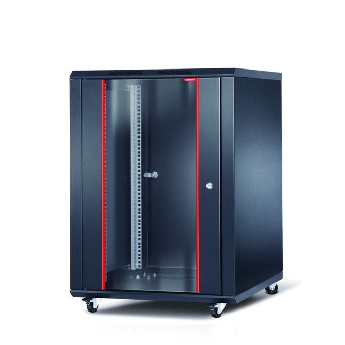 "Комуникационен шкаф Formrack INT-12U6060, 19"", 12U, 600 x 600 mm, черен image"