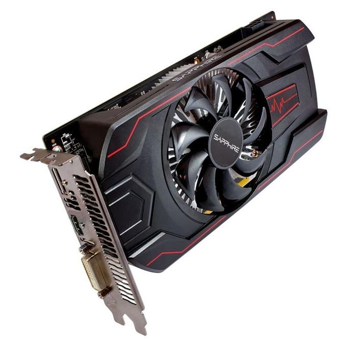 Видео карта AMD Radeon RX 560, 2GB, Sapphire Pulse RX 560, PCI-E 3.0, GDDR5, 128 bit, DisplayPort, HDMI, DVI image