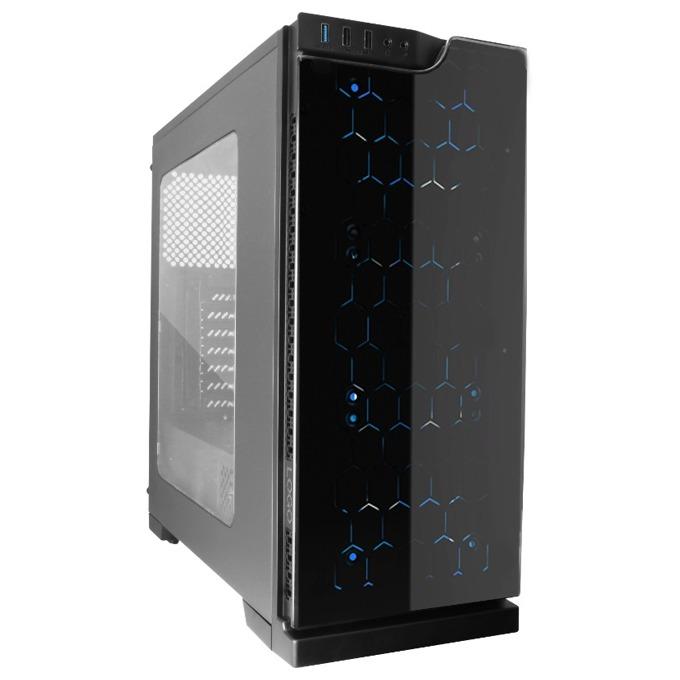 Кутия Segotep K5, mATX/ATX, USB 3.0, черна, без захранване image