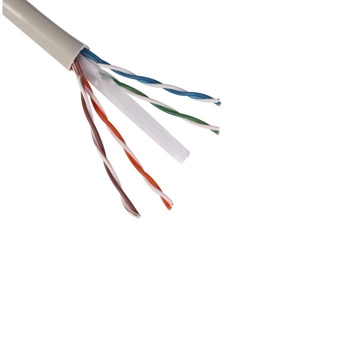 Кабел SeaMAX SC-UUTP-C6-PVC, U/UTP, Cat 6, 1m, бял image