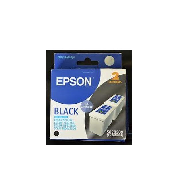 ГЛАВА ЗА EPSON STYLUS 740/760/860/1160 - Black twin pack S020189 - P№ S020209 image