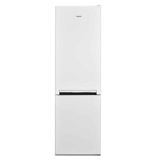 Хладилник с фризер Hotpoint-Ariston H8A1E W, клас А+, 339 л. общ обем, свободностоящ, 309 kWh/годишно, LED осветление, стъклени полици и рафтове, бял image