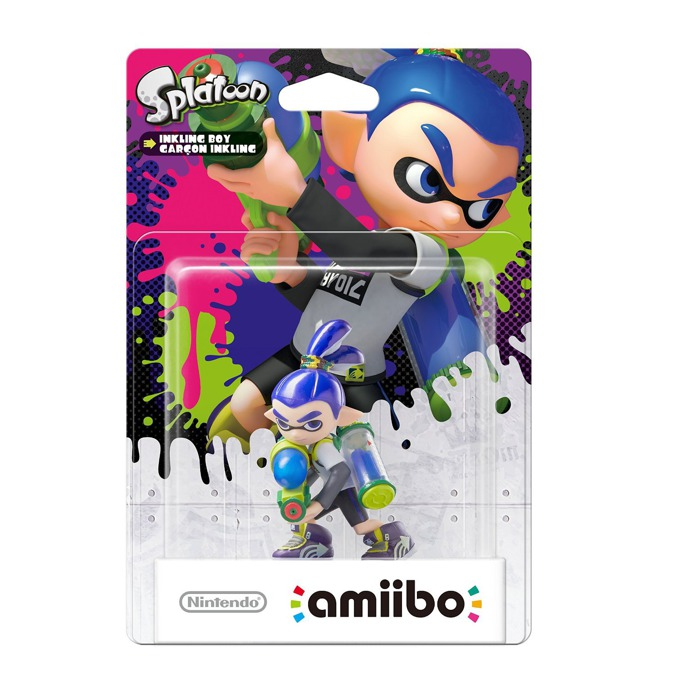 Nintendo Amiibo - Inkling Boy (Splatoon), за Nintendo 3DS/2DS, Wii U image