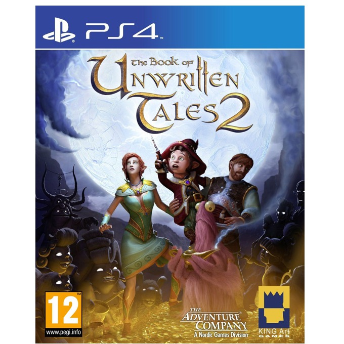 The Book of Unwritten Tales 2, за PS4 image