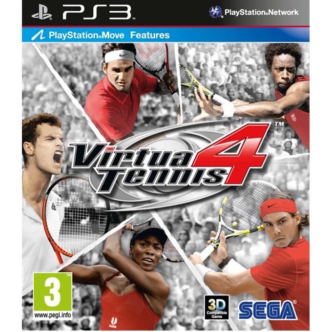 Игра за конзола Virtua Tennis 4 (3D съвместимост), за PlayStation 3 image