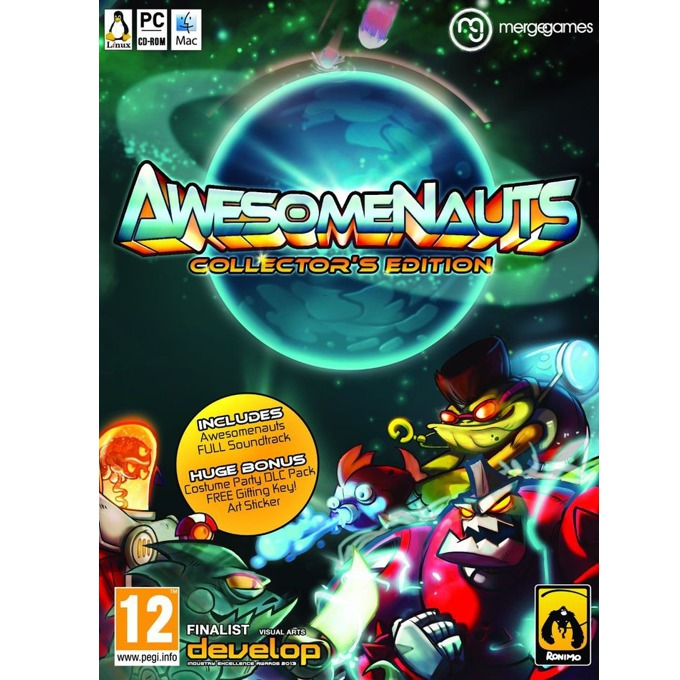 Игра Awesomenauts: Collectors Edition, за PC image
