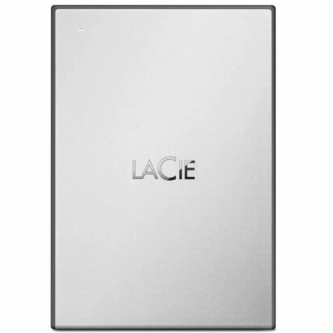 """Твърд диск 4TB, LaCie Drive STHY4000800 (бял), външен, 2.5"""" (6.35 cm), USB 3.0 image"""