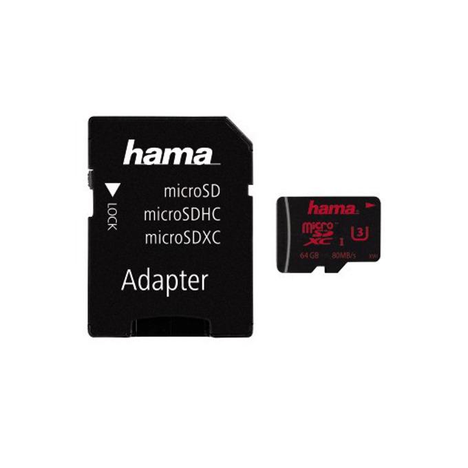 64GB microSDXC Hama 123982