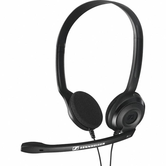 Слушалки Sennheiser PC 3 CHAT, микрофон, черни image