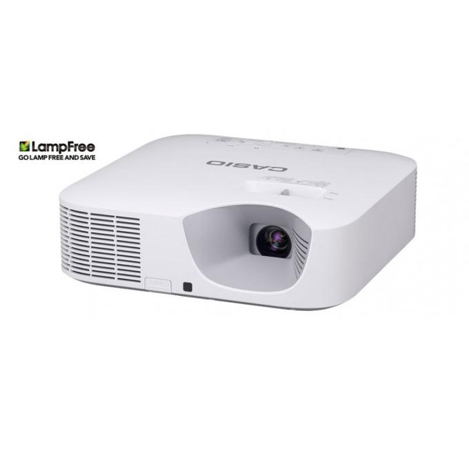 Проектор Casio XJ-F21XN, DLP, XGA (1024 x 768), 20 000:1, 3300 lm, HDMI, VGA, USB, RJ-45, бял image