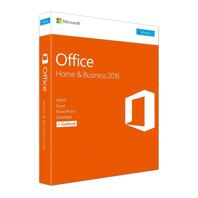 MS Office Home and Business 2016 English T5D-02826