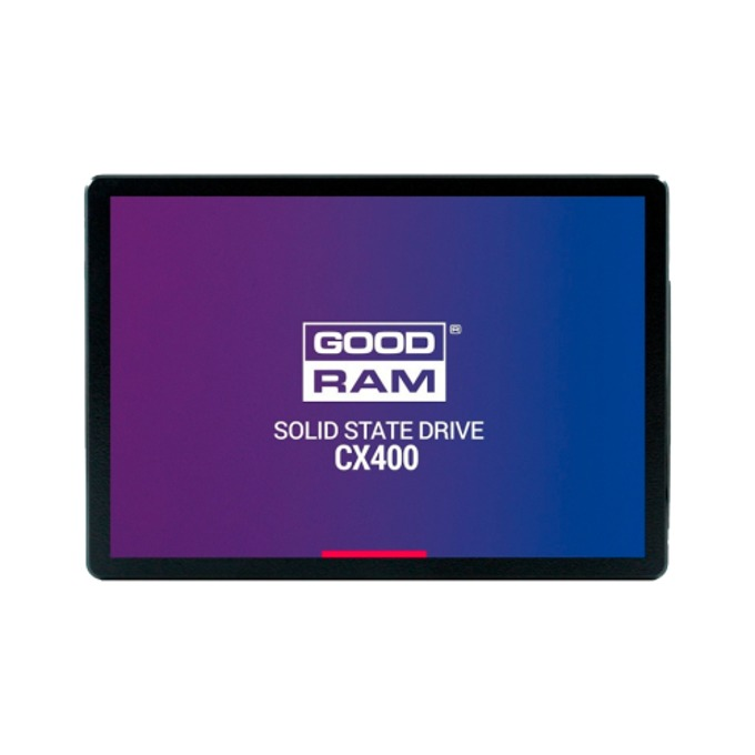 "SSD 128GB Goodram CX400, SATA 6 Gb/s, 2.5"" (6.35cm), скорост на четене 550 MB/s, скорост на запис 450 MB/s image"