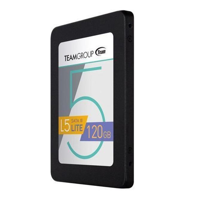 """SSD 120GB TeamGroup L5 LITE, SATA 6Gb/s, 2.5""""(6.35 cm), скорост на четене 500MB/s, скорост на запис 300MB/s image"""