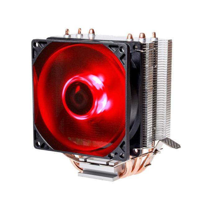 Охлаждане за процесор ID-Cooling SE-903, съвместимост с 1151/1150/1155/1156/775/FM2+/FM2/FM1/AM3+/AM3/AM2+/AM2, червена подсветка image
