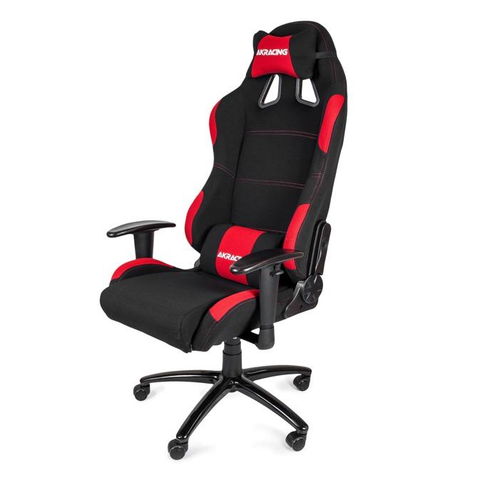 Геймърски стол AKRACING K7012, черен/червен image