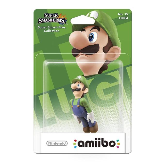 Nintendo Amiibo - Luigi, за Nintendo 3DS/2DS, Wii U image