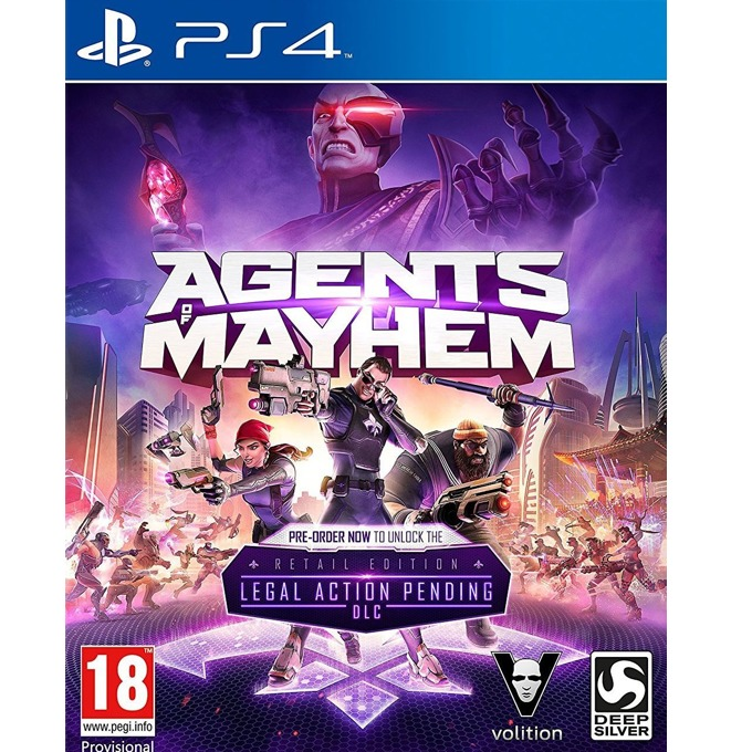 Agents of Mayhem: Day One Edition, за PS4 image