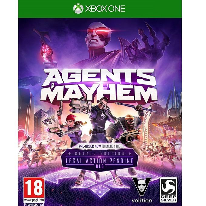 Игра за конзола Agents of Mayhem: Day One Edition, за Xbox One image