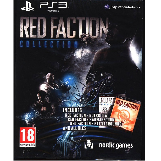Игра за конзола Red Faction Collection, за PS3 image