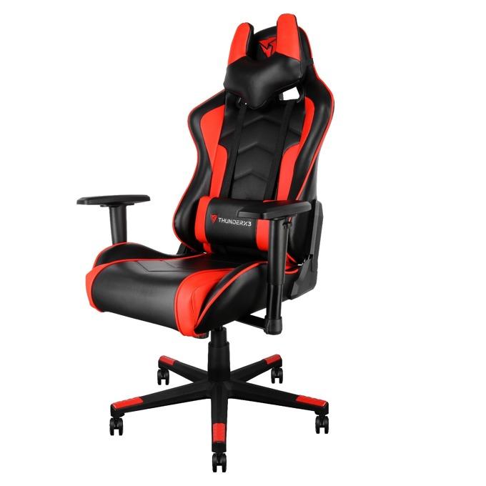 Геймърски стол AeroCool TEGC-2009101.R1, до 125 кг, черен/червен image