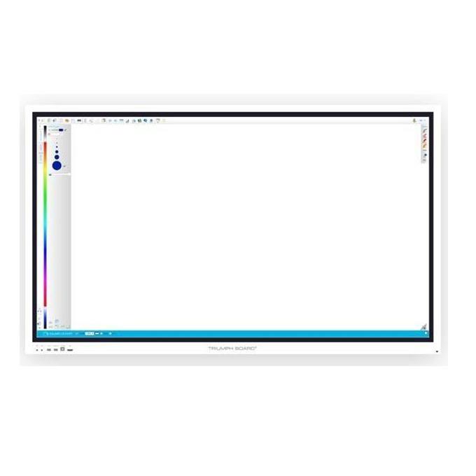 "Интерактивен дисплей Triumph Board 86"" Interactive Flat Panel, 86""(218.44 cm) 4K UHD Open Cell DLED сензорен дисплей, HDMI, VGA, USB image"