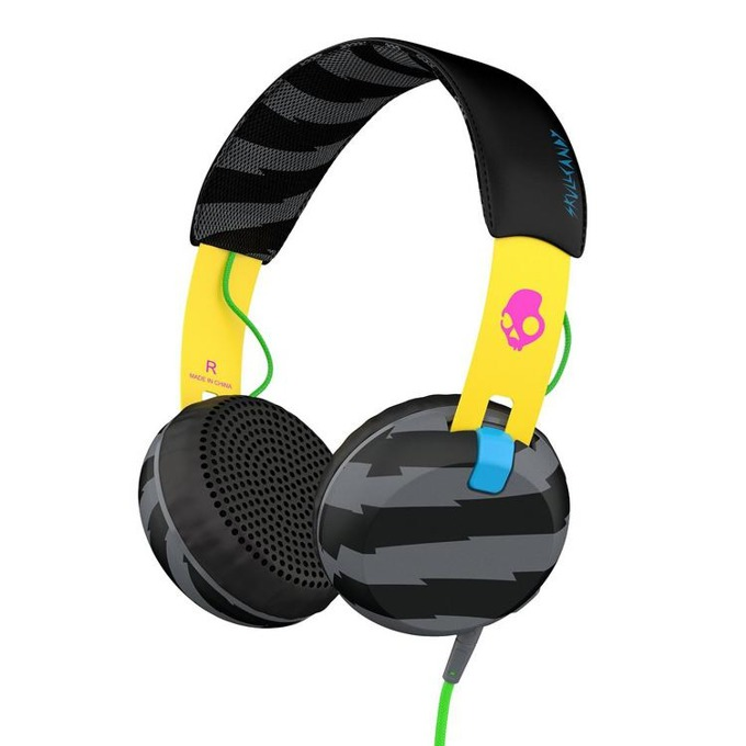 Слушалки Skullcandy Grind Headphones Locals Only, дизайнерски, микрофон image