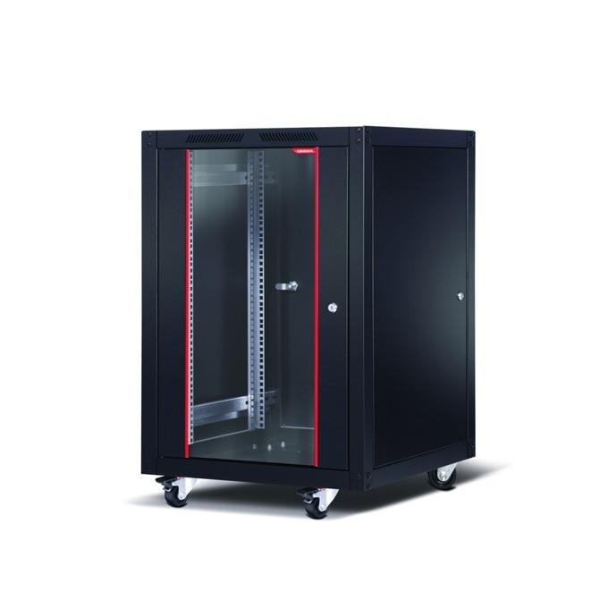 """Комуникационен шкаф Formrack SLV-16U6060/BTA-16U6060, 19"""", 16U, 600 x 600 mm, черен image"""