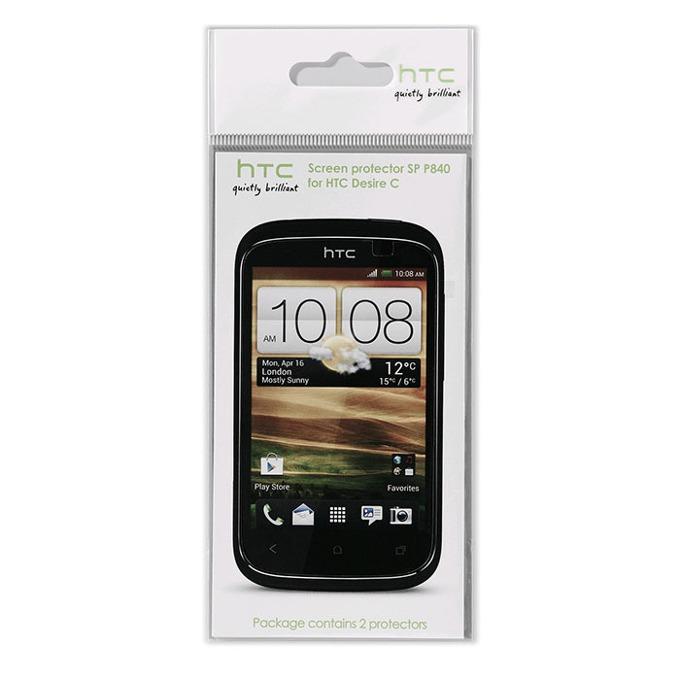 Защитно фолио (протектор) HTC за Desire C  image