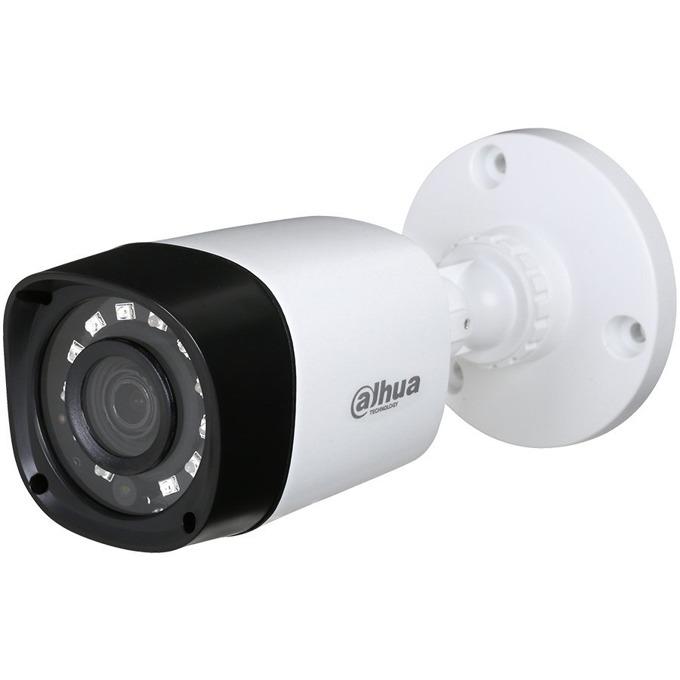 "HDCVI камера Dahua HAC-HFW1200R, насочена ""bullet"", 2 Mpix(1920x1080@30FPS), 3.6mm обектив, IR осветеност (до 20 метра), външна, IP67 вандалоустойчива image"