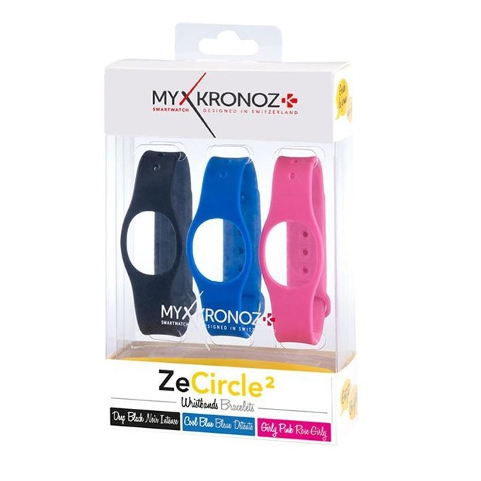 Каишки за смартчасовник MyKronoz ZeCircle 2, 3 цвята image