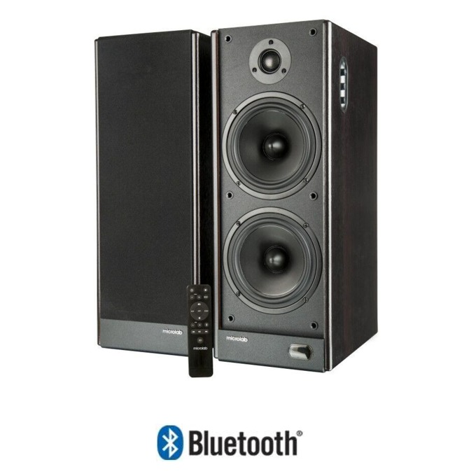 Тонколони Microlab Solo 29, 2.1, 80 RMS, Bluetooth, RCA, Toslink, Coaxial, черни  image