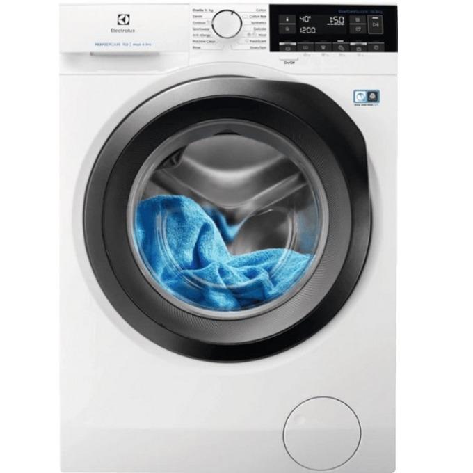 Пералня със сушилня Electrolux EW7W361S, клас А, 10 кг. капацитет на пералня/ 6 кг. на сушилня, 1600 оборота в минута, 16 програми на изпиране/ 12 на сушене, свободностояща, 60 cm. ширина, бяла image