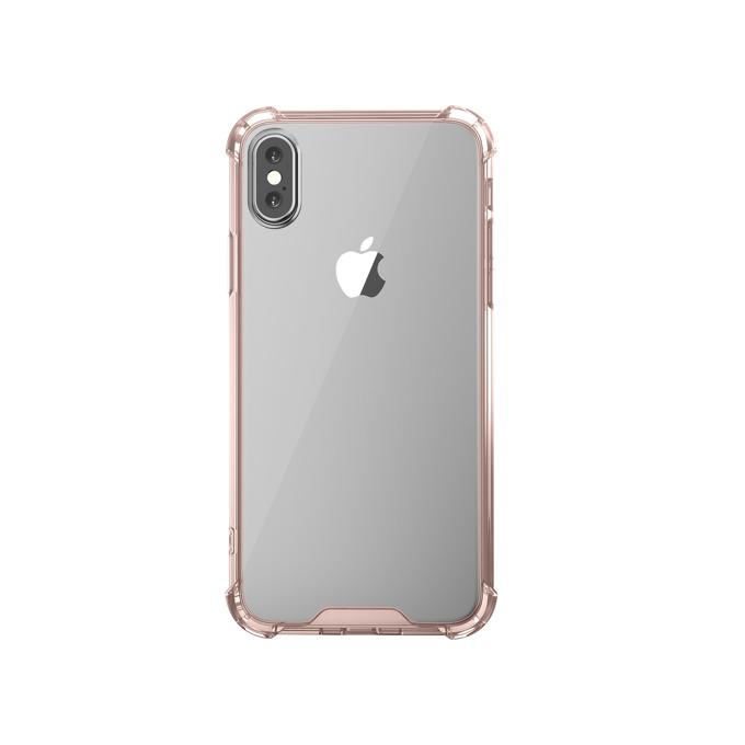 Калъф за Apple iPhone XS, термополиуретанов, Remax Milton, розов image