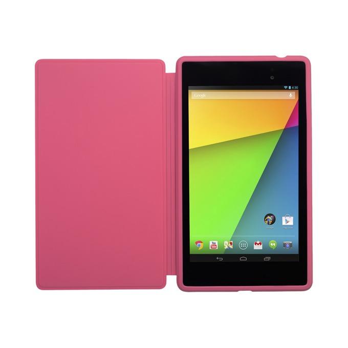 "Калъф Asus за таблет Nexus 7 до 7"" (17.78 cm), ""бележник"", розов image"