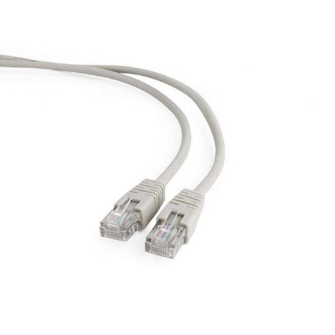 Пач кабел Gembird PP12-3M, UTP, Cat 5e, 3m, сив image