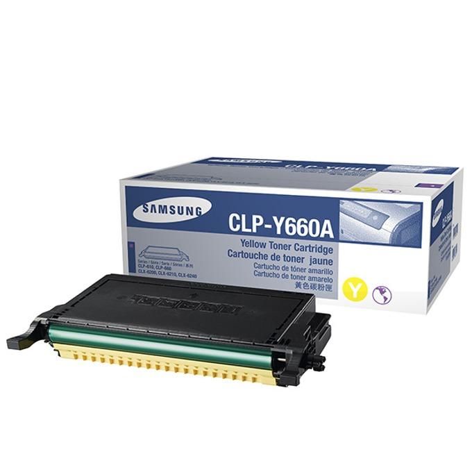 КАСЕТА ЗА SAMSUNG CLP610/CLP660/CLX6200/CLX6210/CLX6240 - Yellow - P№ CLP-Y660A - заб.: 2000k image