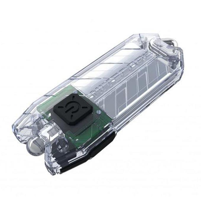 Фенер Nitecore Tube, Micro USB вход за зареждане, 45 lumens, джобен, бял image