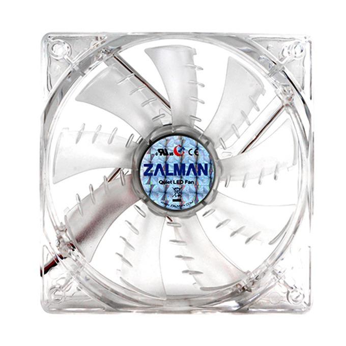 Вентилатор 120mm Zalman ZM-F3 LED SF, Blue LED, 4-пинов PWM, 1200rpm image