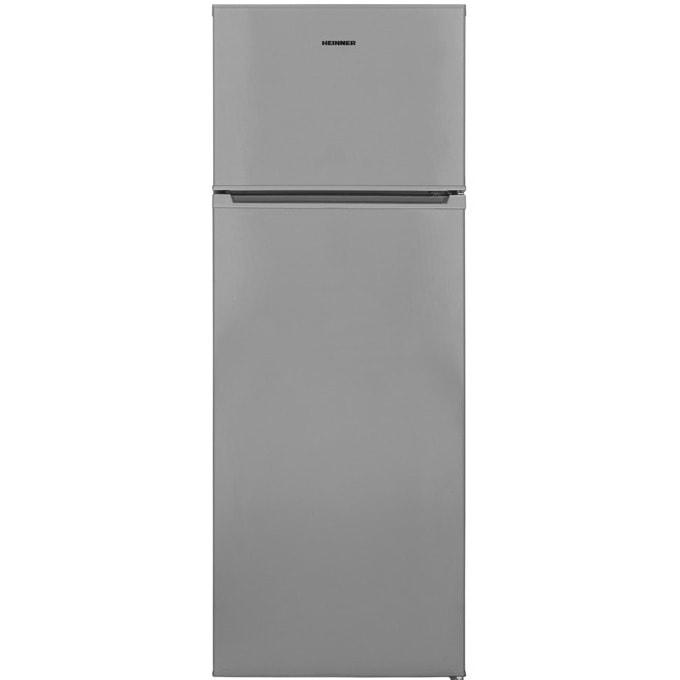 Хладилник с фризер Heinner HF-V213SF+, A+, 213 л. общ обем, свободностоящ, сив image