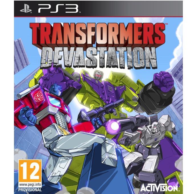 Игра за конзола Transformers Devastation, за PS3 image