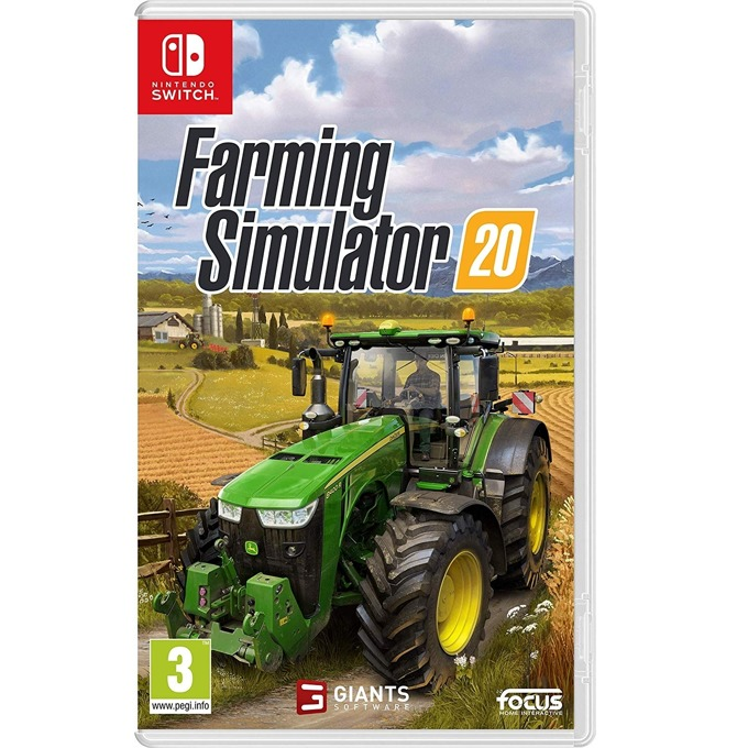 Игра за конзола Farming Simulator 20, за Nintendo Switch image