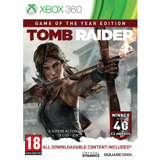 Tomb Raider Game Of The Year Edition, за XBOX360 image