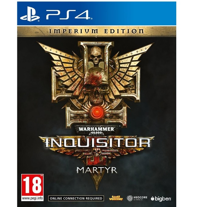 Warhammer 40,000 Inquisitor Martyr Imperium Edition, за PS4 image