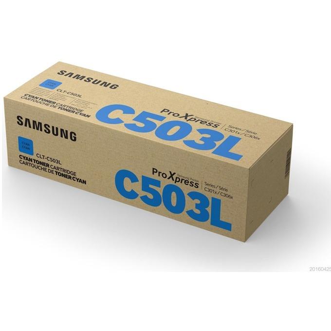 Касета за Samsung CLT-C503L - SU014A - Cyan - заб.: 5 000k image